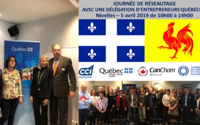 Québec : Journée de réseautage avec une délégation d'entreprises