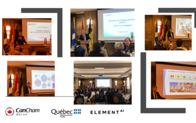 October 1st : Conference « Le Québec en Belgique : Chérir notre amitié, diversifier nos relations »