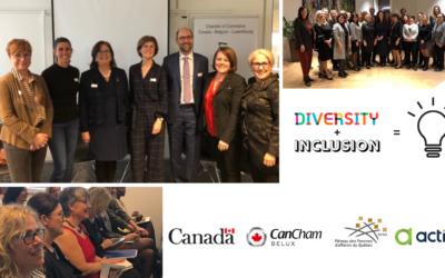 28.01.2020 : Canada – Belgique – Europe en discussion sur l'entrepreneuriat féminin