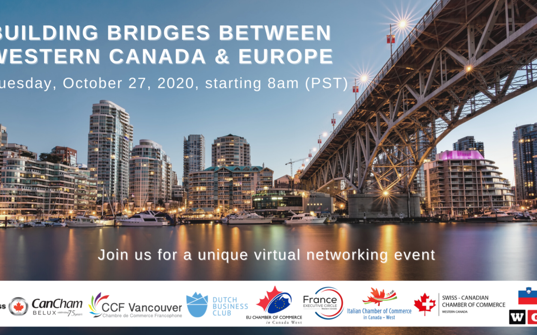27.10.2020 : Building bridges between Western Canada & Europe