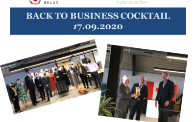 17.09.2020: Back to business cocktail