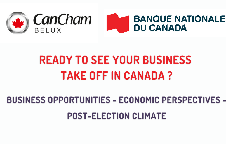 """29.09.21 : Digital event """"Ready to see your business take off in Canada?"""""""